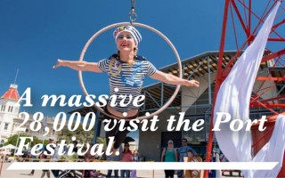 A massive 28,000 visit the Port Adelaide Festival