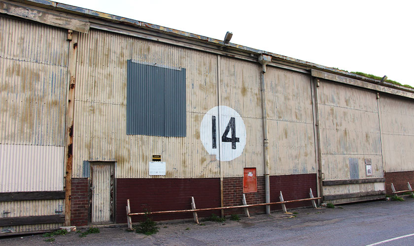 Shed 14 at Dock Two, Port Adelaide